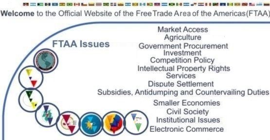 an essay of the free trade area of the americas Free trade agreements regulate tariffs and other trade restrictions between two or  more countries here are the 3 main types, with us.